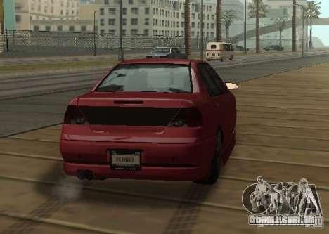 FEROCI VIP para GTA San Andreas vista direita