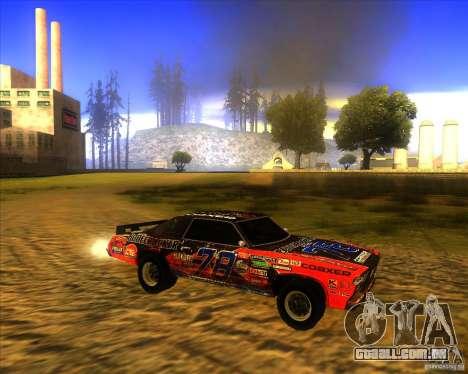 Bonecracker de FlatOut 1 para GTA San Andreas esquerda vista