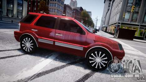 Ford EcoSport para GTA 4 esquerda vista