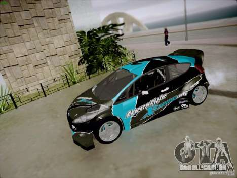 Ford Fiesta RS para GTA San Andreas vista interior