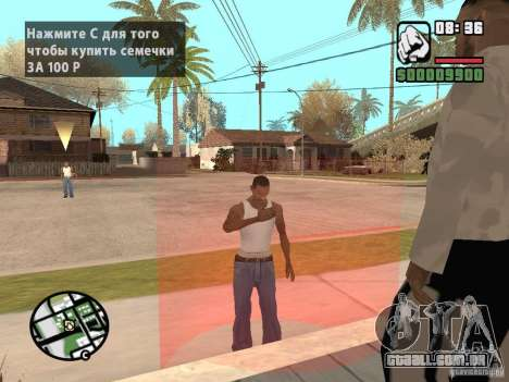 Comprar sementes para GTA San Andreas