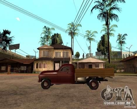 Gaz M-20 Pobeda PickUp para GTA San Andreas esquerda vista