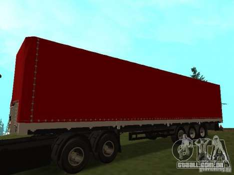 Nefaz 93344 vermelho para GTA San Andreas
