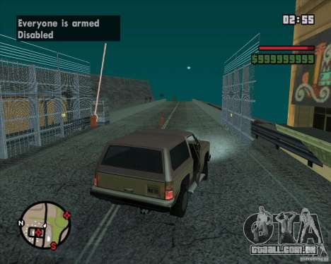 CJ-prefeito para GTA San Andreas oitavo tela