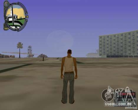 iCEnhancer beta para GTA San Andreas segunda tela