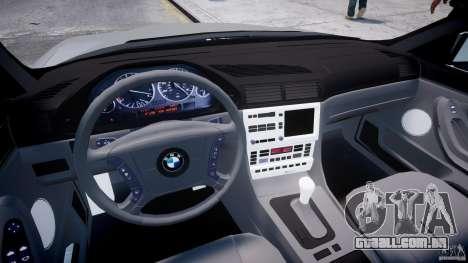 BMW 750i v1.5 para GTA 4 vista direita