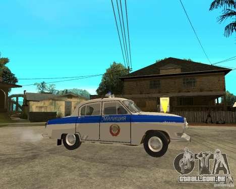 Gaz-21r GAI para GTA San Andreas