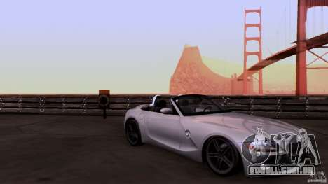 BMW Z4 V10 para GTA San Andreas vista interior