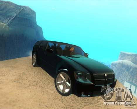Dodge Magnum RT 2008 v.2.0 para GTA San Andreas vista direita