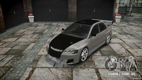 Mitsubishi Lancer Evolution VIII v1.0 para GTA 4 vista de volta