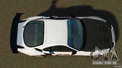 Toyota Supra Top Secret para GTA 4 vista direita