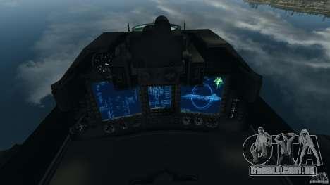 ADF-01 Falken para GTA 4 vista direita