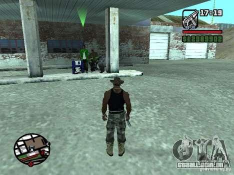 Gun Seller RUS para GTA San Andreas quinto tela