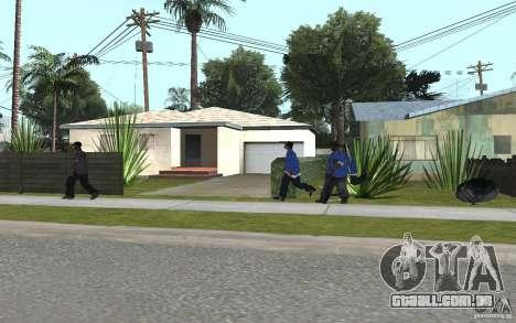 Crips 4 Life para GTA San Andreas quinto tela