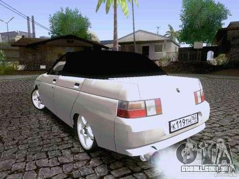 LADA 21103 Maxi para GTA San Andreas traseira esquerda vista