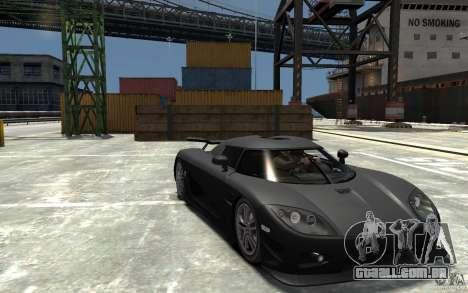 Koenigsegg CCXR Edition V1.0 para GTA 4 vista de volta