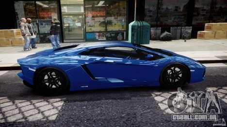 Lamborghini Aventador LP700-4 2011 [EPM] para GTA 4 vista lateral
