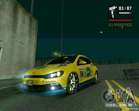 Volkswagen Scirocco 2008 para GTA San Andreas