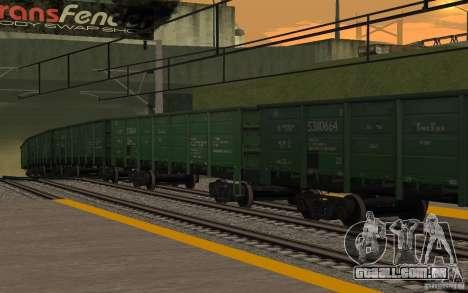 FERROVIÁRIA mod II para GTA San Andreas décimo tela