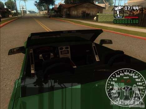Cadillac XLR para GTA San Andreas vista superior