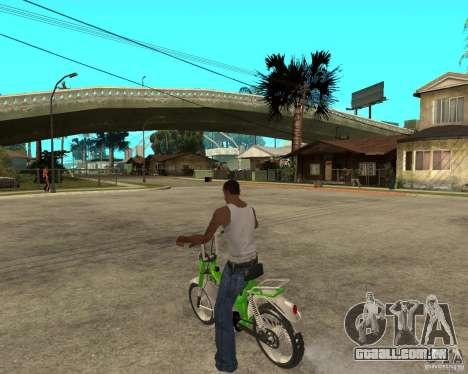 Mustang Mamba para GTA San Andreas esquerda vista