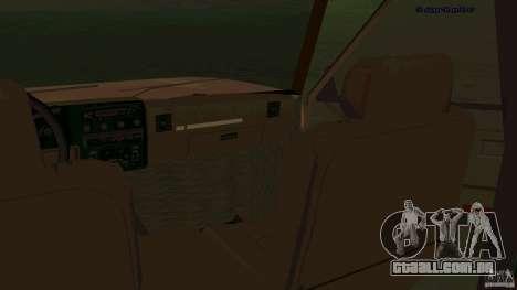 HD Huntley para GTA San Andreas vista traseira