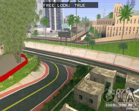 Novas texturas de Los Santos para GTA San Andreas segunda tela