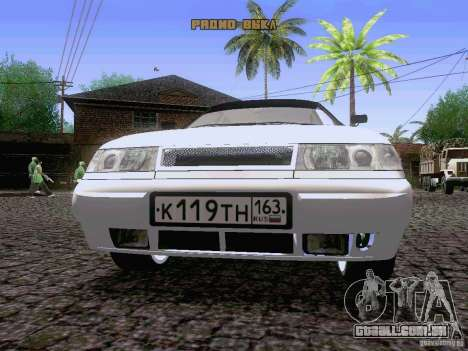 LADA 21103 Maxi para GTA San Andreas vista interior