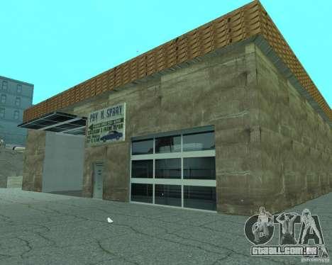 Novo Xoomer. posto de gasolina novo. para GTA San Andreas sexta tela