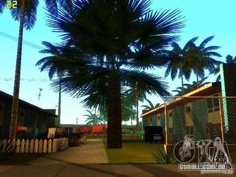 Vegetação perfeita v. 2 para GTA San Andreas terceira tela