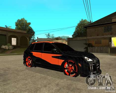 Porsche Cayenne Turbo S Tunned	 para GTA San Andreas