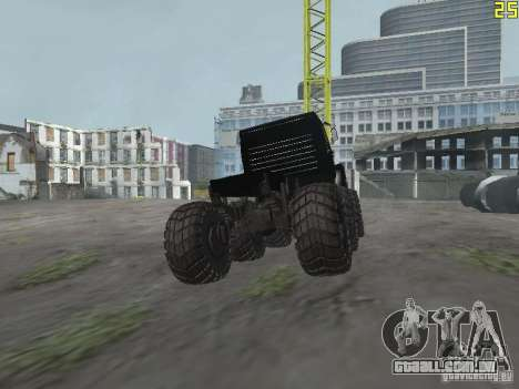 ZIL 497200 para GTA San Andreas traseira esquerda vista