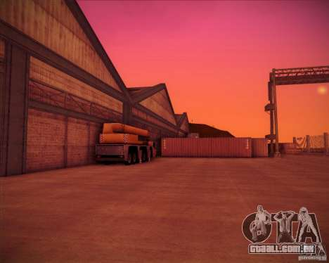 Portland para GTA San Andreas quinto tela