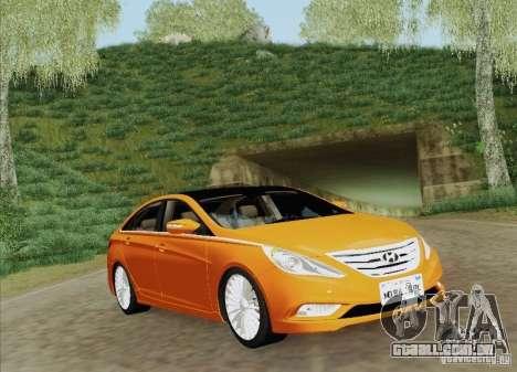 Hyundai Sonata 2012 para o motor de GTA San Andreas