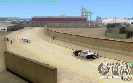 Estradas concretas de Los Santos Beta para GTA San Andreas twelth tela