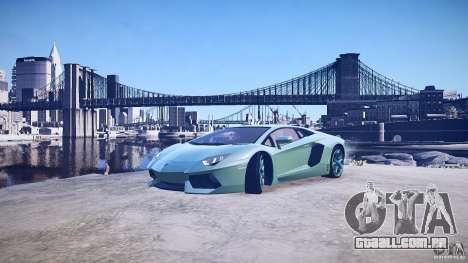 Lamborghini Aventador LP700-4 v1.0 para GTA 4 rodas