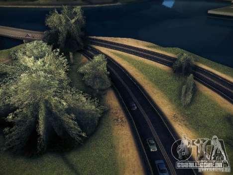 Aumento de desenho de máquinas e pedov para GTA San Andreas segunda tela