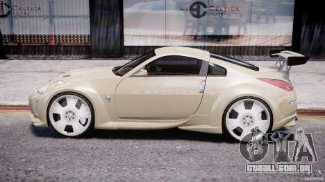 Nissan 350Z Veilside Tuning para GTA 4 traseira esquerda vista