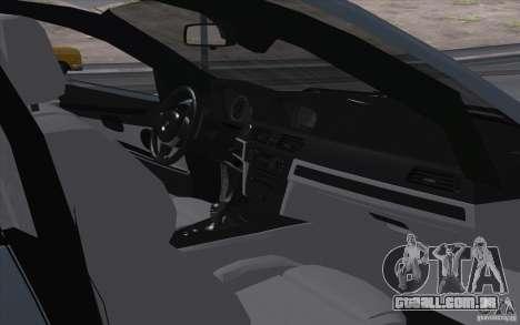 BMW X6M 2013 para GTA San Andreas vista traseira