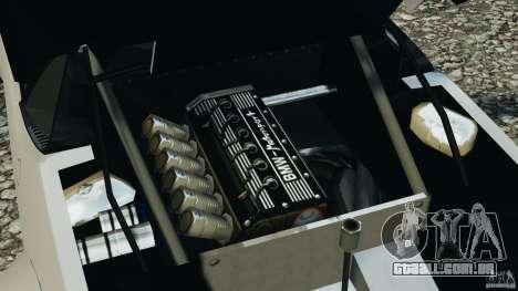 BMW M1 Procar para GTA 4 vista de volta