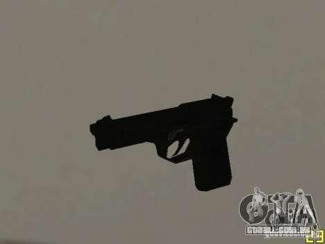 Armas do COD MW 2 para GTA San Andreas terceira tela