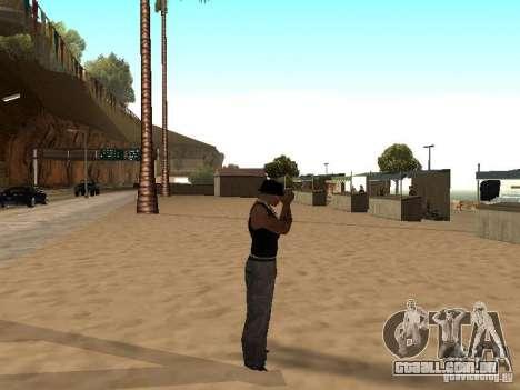 Mercado na praia para GTA San Andreas décimo tela