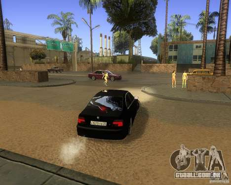BMW 525i e39 para GTA San Andreas vista direita