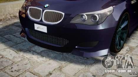 BMW M5 Lumma Tuning [BETA] para GTA 4 interior