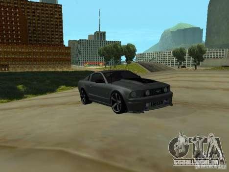 Ford Mustang GTS para GTA San Andreas esquerda vista