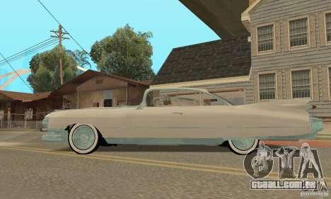Cadillac 1959 para GTA San Andreas vista direita