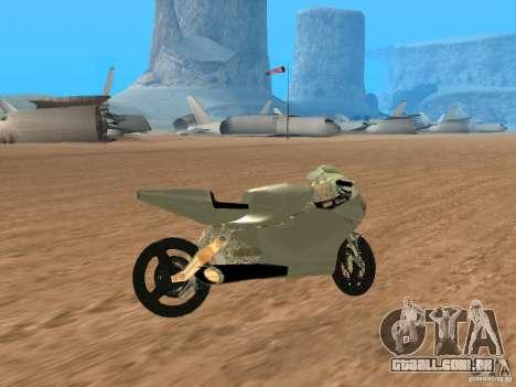 Turbine Superbike para GTA San Andreas vista direita