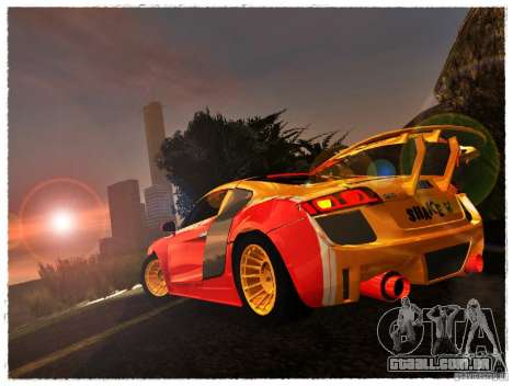 Audi R8 Calibri-Ace para GTA San Andreas esquerda vista