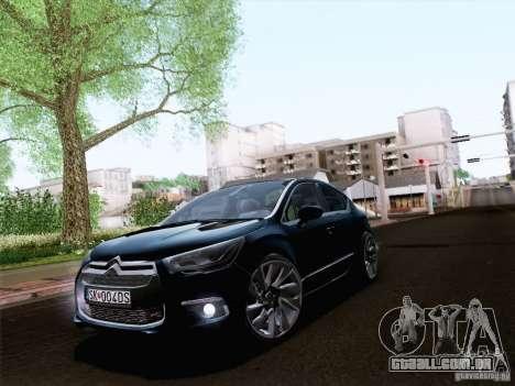 Citroën DS4 para GTA San Andreas