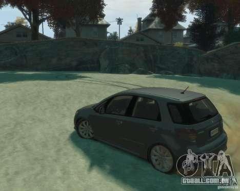 Suzuki SX4 Sport Back para GTA 4 esquerda vista